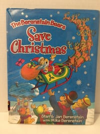 "1st Edition ""The Berenstain Bears Save Christmas"" Stan & Jan & Mike Berenstain HC Granger"