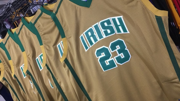 33703347d10 Used LeBron James St. Vincent-St. Mary HS Jersey MANY SIZES for sale ...