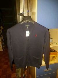 camicia a maniche lunghe button-up nera 6810 km