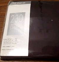 230 Thread Count -Sateen Sheets Full Size-4 Piece Sheets Set
