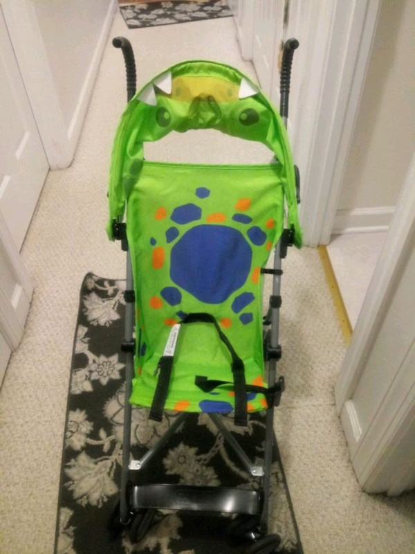 Used Green And Black Lightweight Stroller For Sale In Wake
