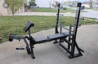Power house weight bench with weights Sicklerville, 08081