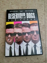 Reservoir Dogs DVD case Renfrew, K7V 3M2