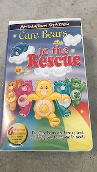 Care bears to the rescue vhs movie