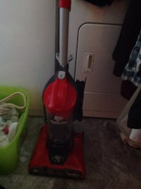 red and gray upright vacuum cleaner Mason, 45040