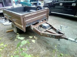 Reduced! brown ranger bed trailer