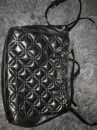 black leather quilted crossbody bag West Chester, 45069