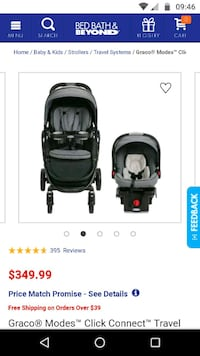 Graco modes click connect stroller Falls Church, 22044