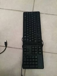 black corded computer keyboard and mouse Brownsville, 78521