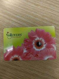 Royers flowers gift card $500 Camp Hill, 17011
