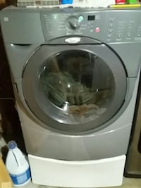 Whirlpool Duet washer with white pedestal  Manassas, 20110