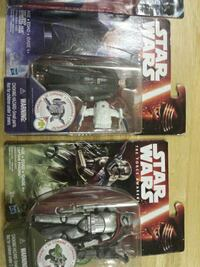 two Star Wars action figures new