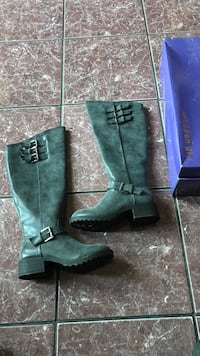 pair of green leather boots Salinas, 93905