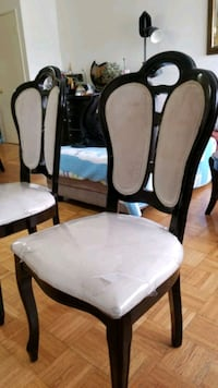 Dining Chairs (set of 6) PICK UP ONLY Toronto, M1B 2W6