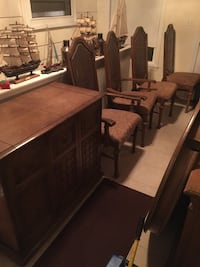 Bar, table, chairs and China cabinet Medford, 02155