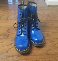 Blue Dr. Martens Rockville