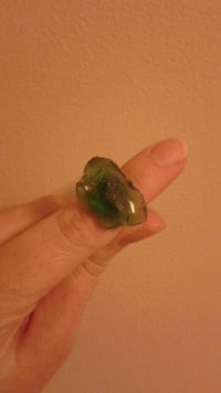 Handmade glass rock ring Knoxville