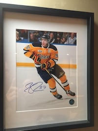Connor McDavid autographed pic with coa Acton, L7J 2Z6