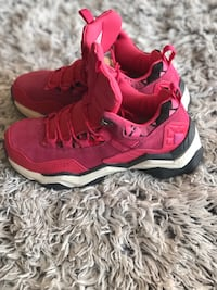 Women's Pink Hiking Boots