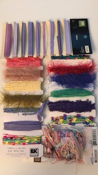 Ribbons and Fancy Fibres for Crafting Edmonton, T6L 6K2