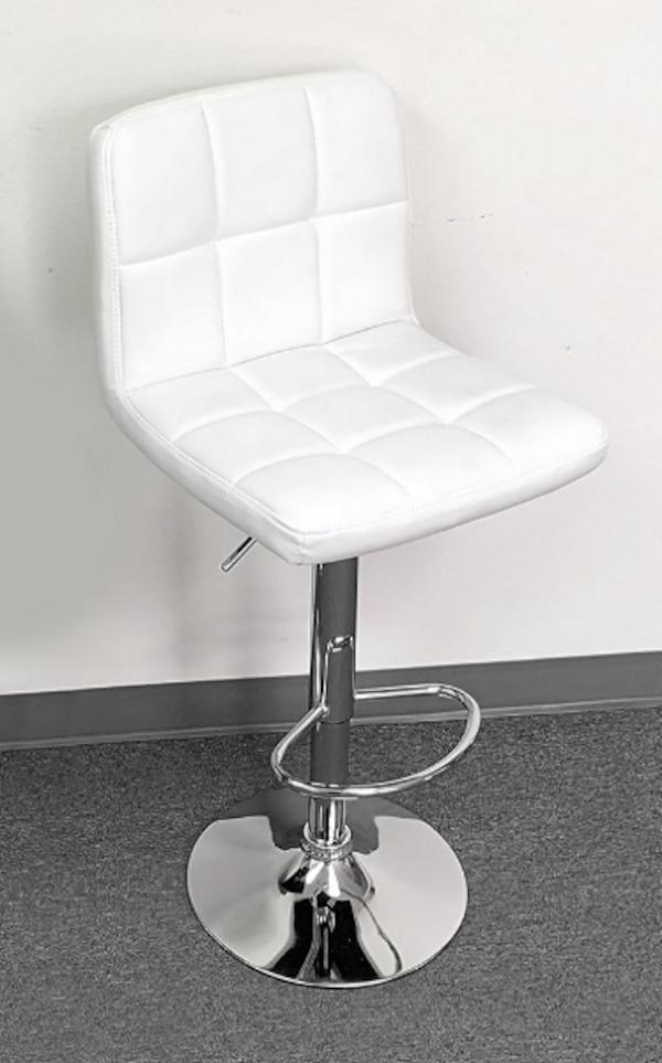 Marvelous New 35 Each Barstool Contemporary Chair Swivel Bar Stool Adjustable Height White Camellatalisay Diy Chair Ideas Camellatalisaycom