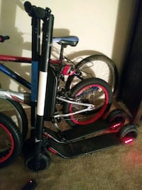 black and red BMX bike Suitland-Silver Hill, 20746