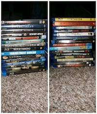 assorted DVD movie cases collection Montréal, H2P 2E4