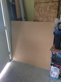 MDF sheets - stored inside house
