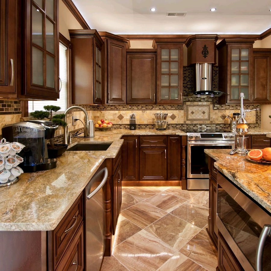 Solid wood kitchen cabinets, new kitchen cabinets
