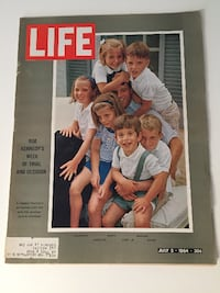 Various Kennedy Life Magazines Waterdown