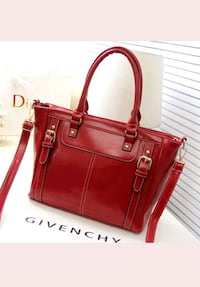 74ca3d2450a6 Used women s red leather tote bag for sale in Borehamwood - letgo