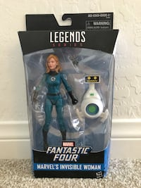 Marvel Legends - Invisible Woman