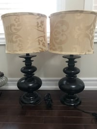 Two lamps, perfect condition Vaughan, L4H 0Z9