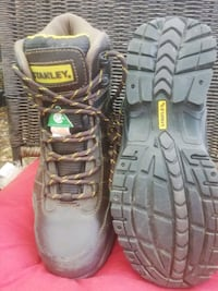 Size 9 Stanley steel toed  boots, brand new Woodstock, N4T 1R5