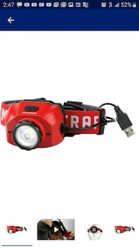 Craftsman 500 lumen Led Rechargeable Headlight