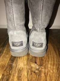 Womens Classic Short Gray Ugg Boots Warrenton, 20186