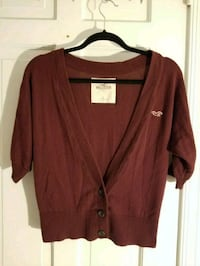 maroon button-up cardigan West Chester, 19382