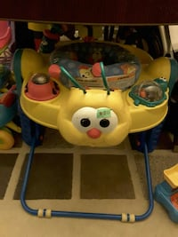 baby's yellow and blue activity walker Ontario, K2H 8S8