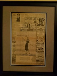 The Beatles poster with black frame Las Vegas