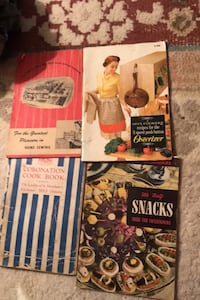 Old 40's50's cook books