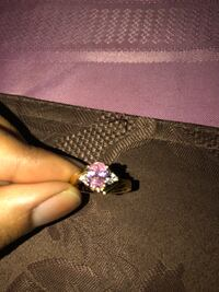 Gold pink diamond ring Hyattsville, 20781