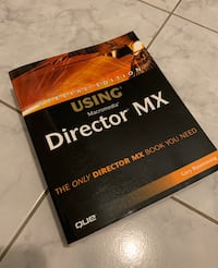 Director MX Tutorial Book Vaughan, L4L 3C7