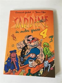 Sardine In outer space #4 by Emmanuel Guibert & Joann Sfar Markham