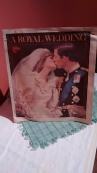 British Royalty paper collectibles Mississauga