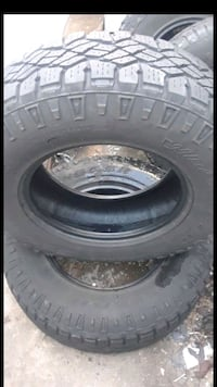 2 Tires lots Tread Wrangler 255/75R17 Herndon