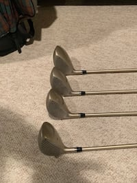 Golf Clubs: Wilson Lady Woods Set  & golf bag