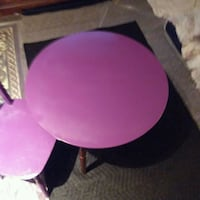 little girl purple table set 2 pieces  Newport News, 23607