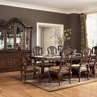 Signature Design By Ashley North Shore Rectangular Extendable Dining Room Set W/ Wood Back Chairs $299.00 - $1,349.00 FRESNO