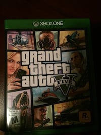 Grand Theft Auto Five Xbox One game case Vaughan, L4H 3P6