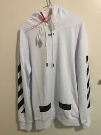 Off white brand new Hoodie.. It's perfect size for large and XL.. open for reasonable offers  Abbotsford, V2T